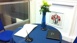 Mandela book of condolence