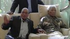 President Jacob Zuma visits Nelson Mandela 29/04/2013