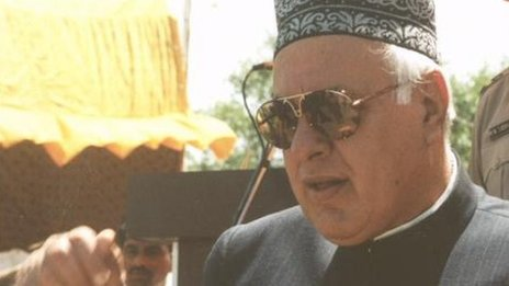 Farooq Abdullah (file photo)