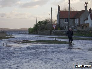Flooding at Salthouse
