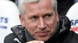 Barclay's Premier League manager of the month for November Alan Pardew