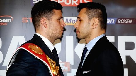 Darren Barker and Felix Sturm