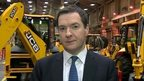 George Osborne at JCB factory