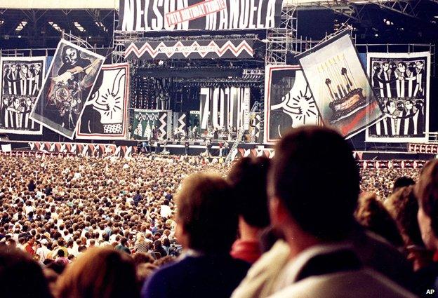 Mandela concert July 1988