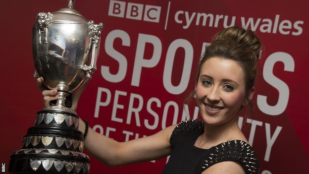 BBC Cymru Wales Sports Personality of the Year 2012 winner Jade Jones