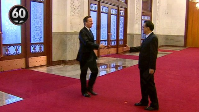 David Cameron in China