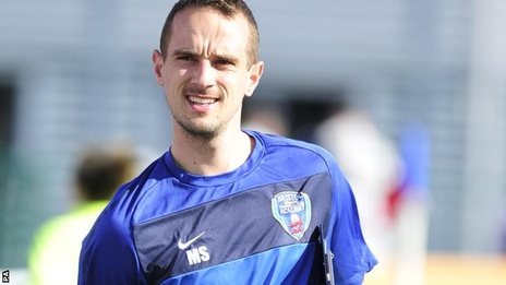 New England Women manager Mark Sampson