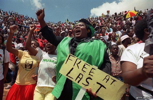 """Free at last"", 1990"