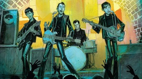 Fifth Beatle becomes comic book star...