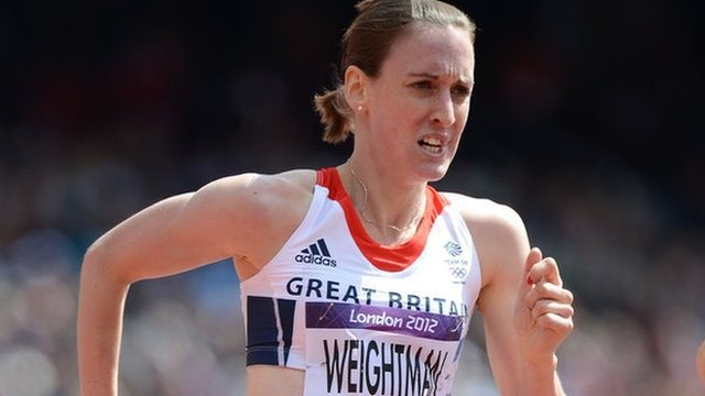 Laura Weightman at the 2012 Olympics
