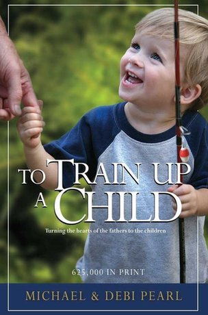 Child 'training' book triggers backlash