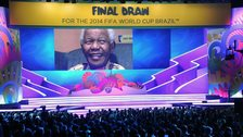 The stage for the 2014 World Cup daraw