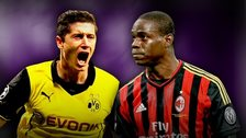 Robert Lewandowski and Mario Balotelli