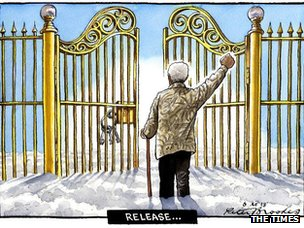 Political cartoon by The Times' Peter Brookes