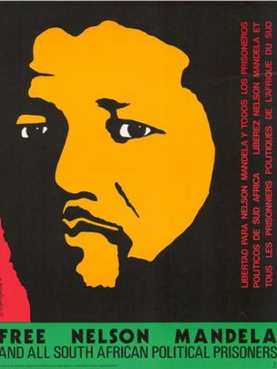 Mandela's struggles in Posters - New York Times