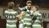 Celtic celebrate Kris Commons's goal