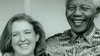 Jennifer Smit with Nelson Mandela