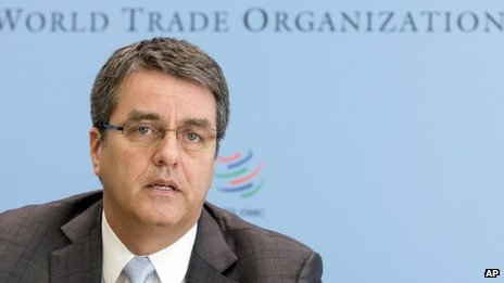World Trade Organization Director General Roberto Azevedo, November 2013 picture