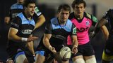 Glasgow lost 29-20 in Cardiff