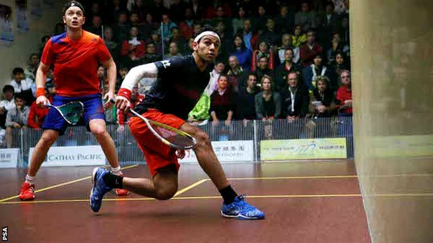 James Willstrop and Mohamed Elshorbagy