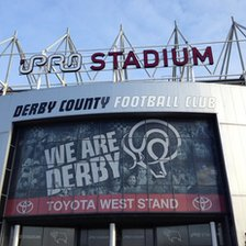 iPro stadium in Derby