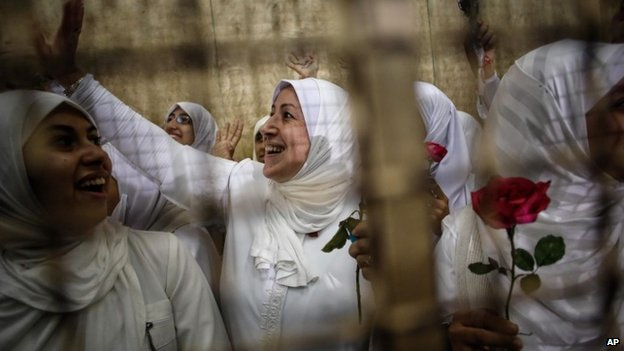 Court frees pro-Morsi protest women...