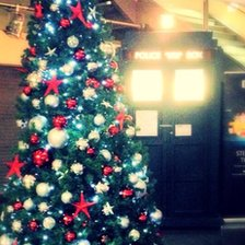 BBC Birmingham Christmas tree