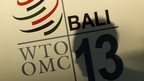 WTO logo from Bali meeting