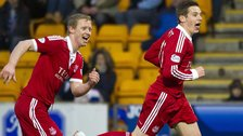 Barry Robson and Peter Pawlett celebrate