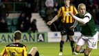Hibernian's James Collins v Partick Thistle