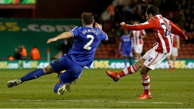 Stoke score the winner