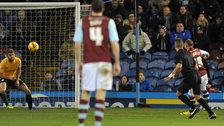 Burnley's Michael Kightly scores