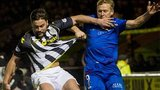 St Mirren's Darren McGregor and Inverness captain Richie Foran