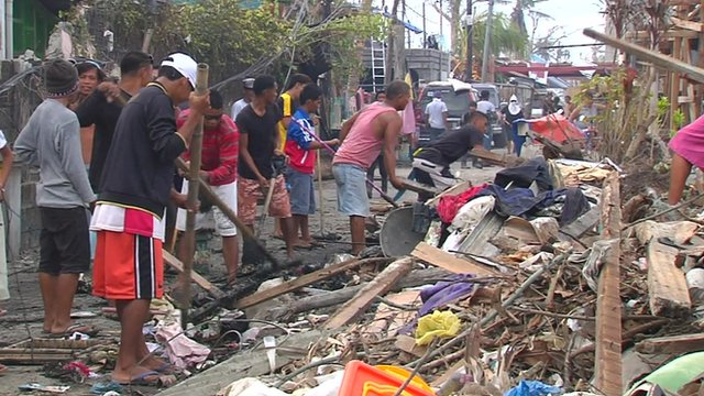 Optimism as Tacloban faces rebuilding challenge...