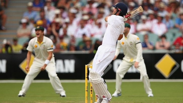 Alastair Cook hooks