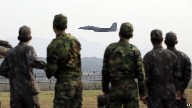 S Korea expands air defence zone...