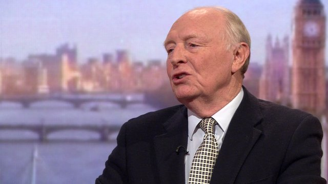Lord Kinnock on the Andrew Marr Show