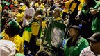 ANC members at the Standard Bank Arena, Johannesburg (8 Dec 2013)
