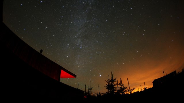 Kielder dark sky park in Northumberland