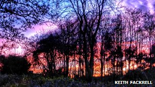 Sunset in Knowle