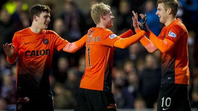 Highlights - Dundee Utd 4-1 Hearts