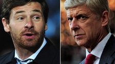 Arsene Wenger and Andre Villas-Boas