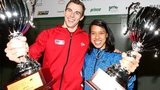 Nick Matthew and Nicol David