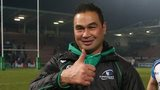 Connacht coach Pat Lam gives his reaction after his team's shock win in Toulouse