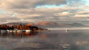 Loch Lomond from Lomond shores, taken by Teresa Hunter from Glasgow.