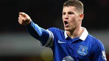 Everton midfielder Ross Barkley