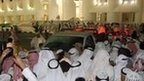 Kuwaitis demonstrators storm the Kuwaiti National Assembly in Kuwait City