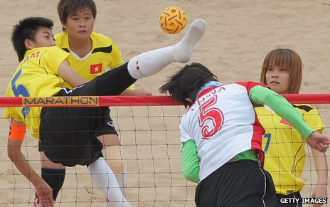 Five sports played at the Southeast Asian Games