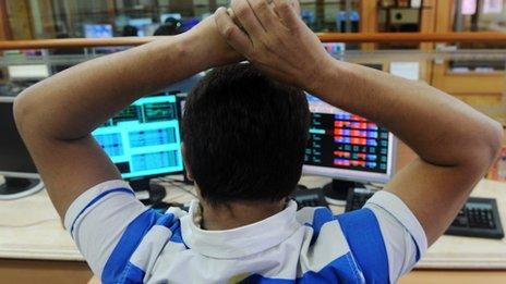 Indian Sensex trader