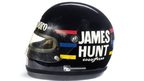 James Hunt 1976 F1 racing helmet